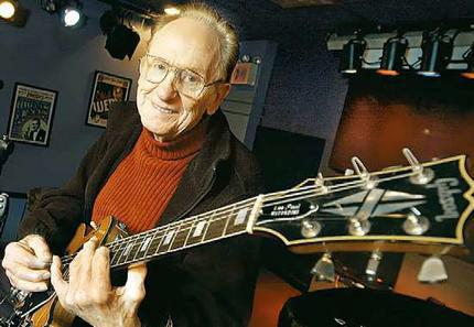 살아있는 기타의 전설 Las Paul 선생님께서 13일 운명하셨습니다.