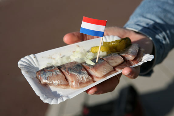 Dutch herring - Dutch cuisine in amsterdam ...