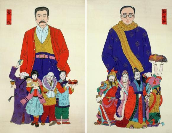 노신(魯迅)과 곽말약(郭沫若)의 문투(文鬪)