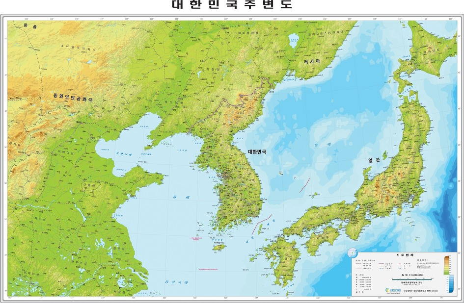 Image result for 한반도 지도