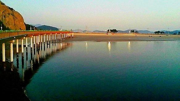 고군산군도 아름다운 섬 선유도의 야경