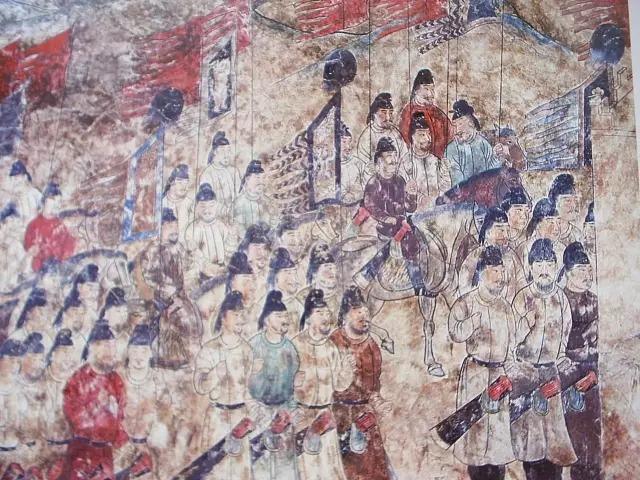 천년전 사마르칸트의 벽화(고구려사신도 포함)