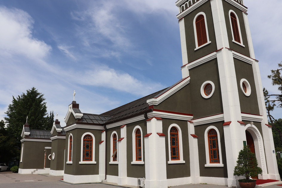 삼척 성내동 성당(등록문화재 제141호)