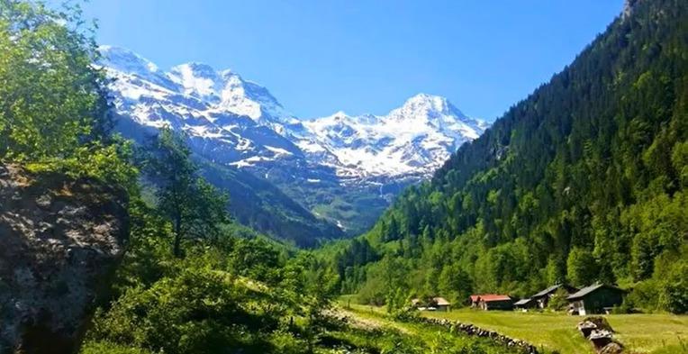스위스 티치노 베르자스카 계곡 다이빙 - Diving in the Velle Verzasca Ticino Switzerland