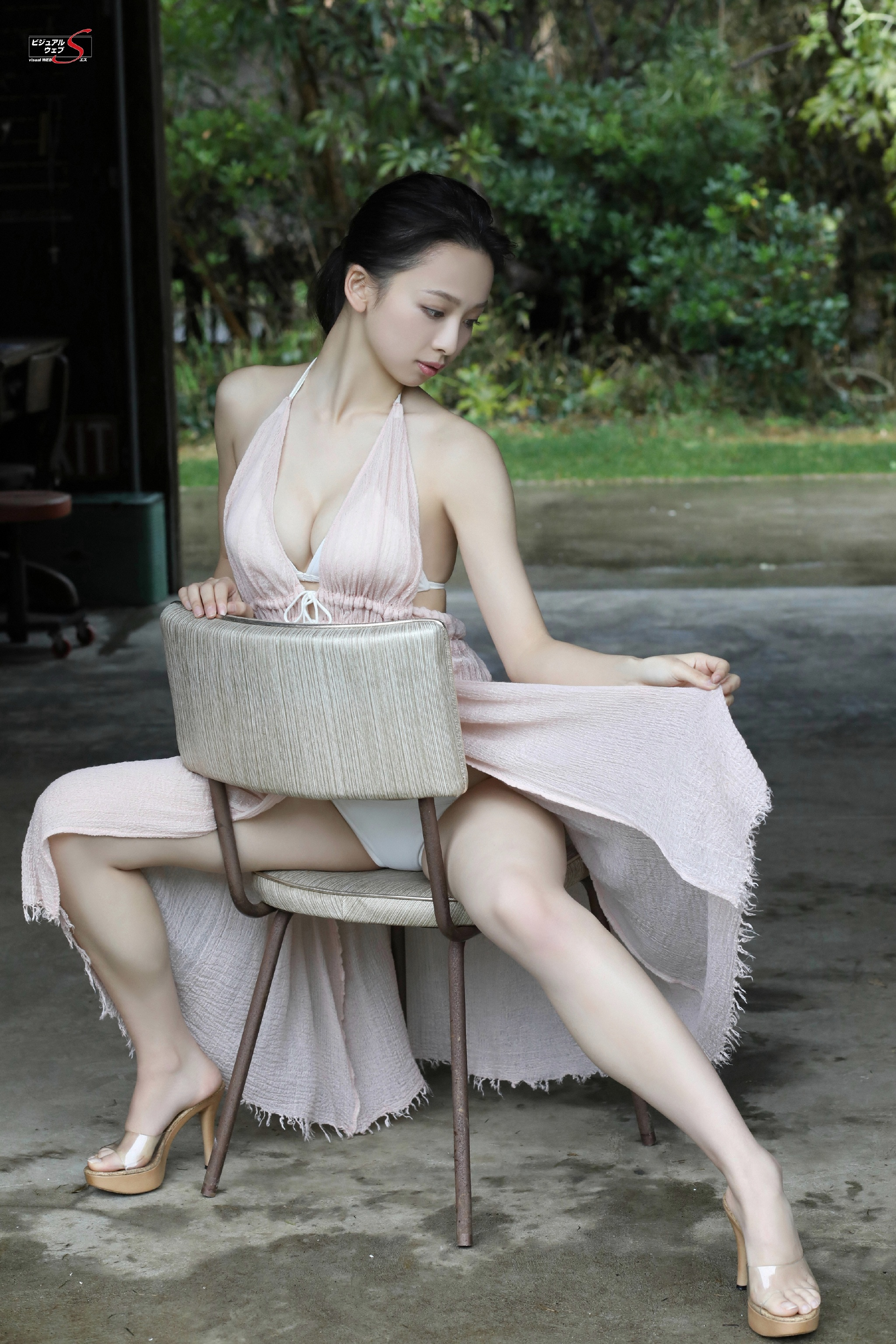 cool Asian in sexy pose