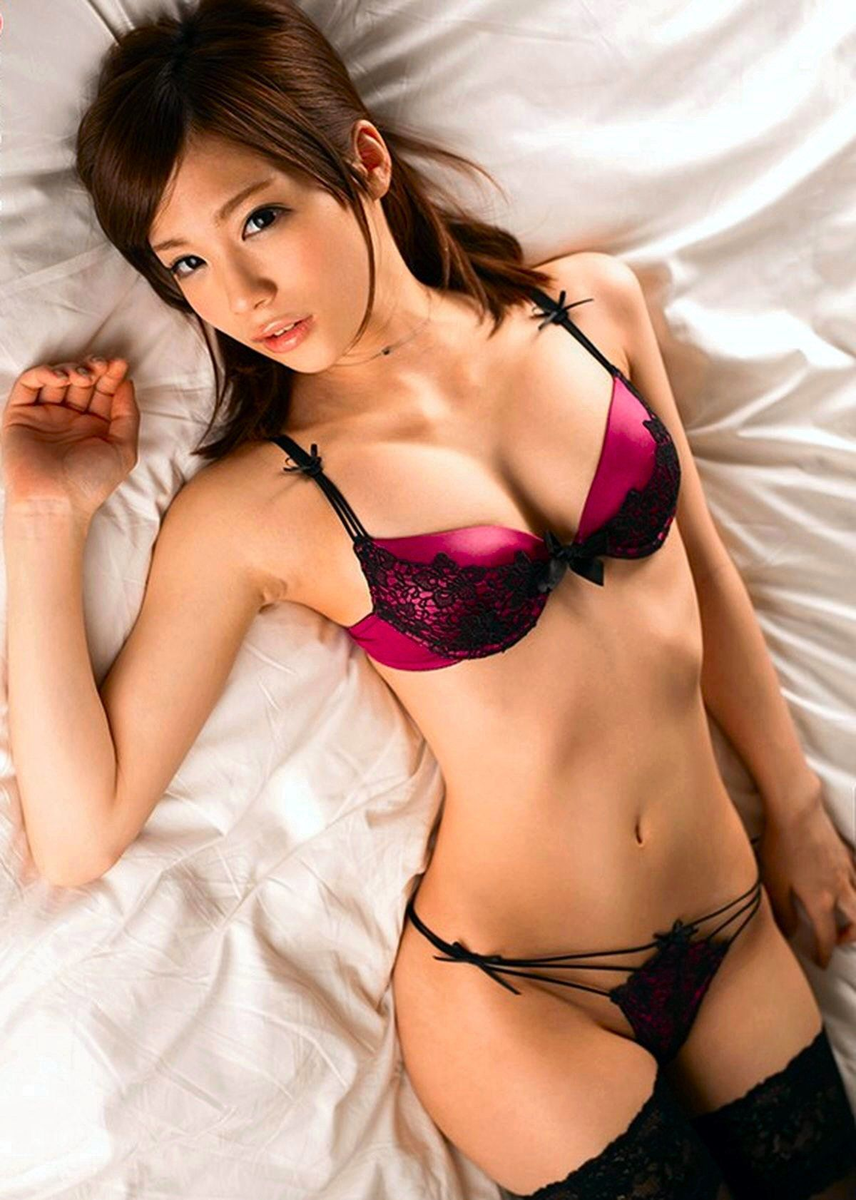 cool Japanese girl in hot mood